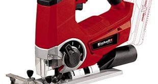 Einhell Akku Stichsaege TE JS 18 Li Solo Power X Change Lithium 310x165 - Einhell Akku Stichsäge TE-JS 18 Li Solo Power X-Change (Lithium Ionen, 18 V, max. 80 mm, 4-Stufen Pendelhub, Absaugadapter, Parallelanschlag, LED-Licht, ohne Akku und Ladegerät)